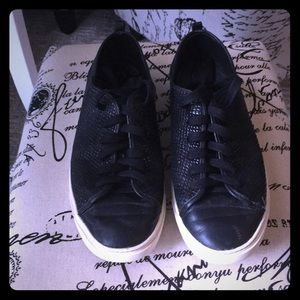 Cole haan python sneakers